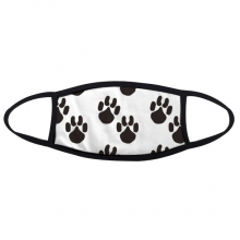 Animal Cute Paw Print Silhouette Footprint Face Anti-dust Mask Anti Cold Maske Gift