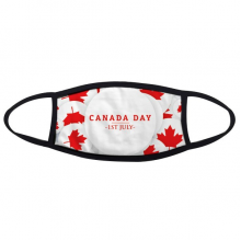 4th Of July Maple Leaf Happy Canada Day Face Anti-dust Mask Anti Cold Maske Gift