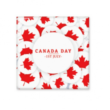 4th Of July Maple Leaf Happy Canada Day Ceramic Bisque Tiles for Decorating Bathroom Decor Kitchen Ceramic Tiles Wall Tiles