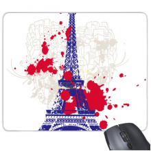 Eiffel Tower Silhouette France Paris Mouse Pad Non-Slip Rubber Mousepad Game Office