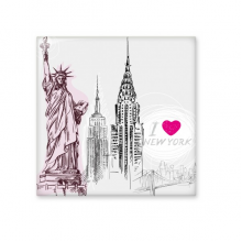 I Love New York Statue Of Liberty America Country City Ceramic Bisque Tiles for Decorating Bathroom Decor Kitchen Ceramic Tiles Wall Tiles