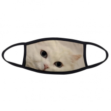 Cat White Kitty Pet Animal Relax Face Anti-dust Mask Anti Cold Maske Gift