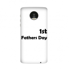 1st Father's Day Festival Quote Motorola Moto Z / Z Force / Z2 Force Droid Magnetic Mods Phonecase Style Mod Gift