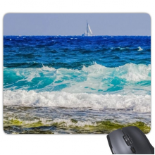 Beach Sea Wave Science Nature Picture Mouse Pad Non-Slip Rubber Mousepad Game Office