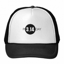 3.14 Pi Day Anniversary Trucker Hat Baseball Cap Nylon Mesh Hat Cool Children Hat Adjustable Cap Gift