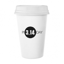 3.14 Pi Day Anniversary Classic Mug White Pottery Ceramic Cup Gift 350 ml