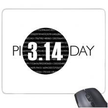 3.14 Pi Day Anniversary Rectangle Non-Slip Rubber Mousepad Game Mouse Pad Gift