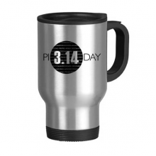 3.14 Pi Day Anniversary Stainless Steel Travel Mug Travel Mugs Gifts With Handles 13oz