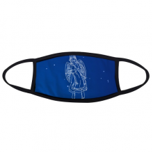 Star Universe Virgo Constellation Pattern Face Anti-dust Mask Anti Cold Maske Gift