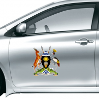 Uganda Africa National Emblem Car Sticker on Car Styling Decal Motorcycle Stickers for Car Accessories Gift