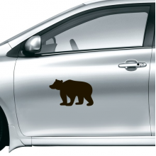 Black Bear Cute Animal Portrayal Car Sticker on Car Styling Decal Motorcycle Stickers for Car Accessories Gift
