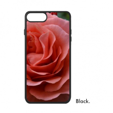 Green Leaves Pink Roses For iPhone 7/7 Plus Cases Phonecase Apple Cover Case Gift