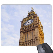 Big Ben Blue Sky White Clouds Mouse Pad Non-Slip Rubber Mousepad Game Office
