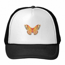 3D Chinese Butterfly in Orange colour Trucker Hat Baseball Cap Nylon Mesh Hat Cool Children Hat Adjustable Cap Gift