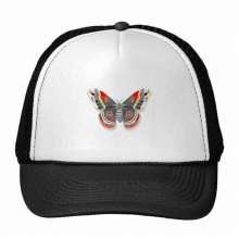 3D Kite Butterfly in Chinese Style Trucker Hat Baseball Cap Nylon Mesh Hat Cool Children Hat Adjustable Cap Gift