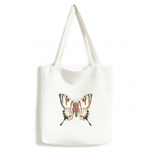 3D Chinese Butterfly Exaggerated Canvas Bag Environmentally Tote Large Gift Capacity Shopping Bags