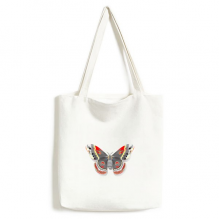 3D Kite Butterfly in Chinese Style Canvas Bag Environmentally Tote Large Gift Capacity Shopping Bags