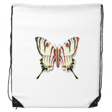 3D Chinese Butterfly Exaggerated Drawstring Backpack Shopping Handbag Gift Sports Bags
