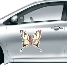 3D Chinese Butterfly Exaggerated Car Sticker on Car Styling Decal Motorcycle Stickers for Car Accessories Gift