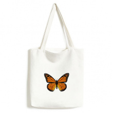 Butterfly Specimen in Orange Environmentally Tote Canvas Bag Shopping Handbag Craft Washable