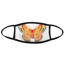 3D Chinese Butterfly in Orange colour Face Anti-dust Mask Anti Cold Maske Gift