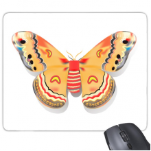 3D Chinese Butterfly in Orange colour Rectangle Non-Slip Rubber Mousepad Game Mouse Pad Gift