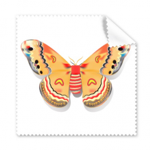 3D Chinese Butterfly in Orange colour Glasses Cloth Cleaning Cloth Gift Phone Screen Cleaner 5pcs