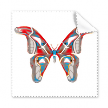 3D Butterfly in Red&Blue colour Glasses Cloth Cleaning Cloth Gift Phone Screen Cleaner 5pcs