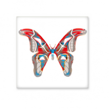 3D Butterfly in Red&Blue colour Ceramic Bisque Tiles Bathroom Decor Kitchen Ceramic Tiles Wall Tiles