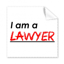 Quote I Am A Lawyer Glasses Cloth Cleaning Cloth Gift Phone Screen Cleaner 5pcs