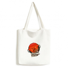 Traditional Singapore Chili Crab Environmentally Tote Canvas Bag Shopping Handbag Craft Washable