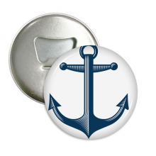 Anchor Droits Of Admiralty Blue Military Ocean Army Bottle Opener Fridge Magnet Emblem Multifunction Badge