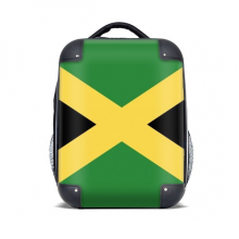 Jamaica National Flag North America Country Hard Case Shoulder Carrying Children Backpack Gift 15""