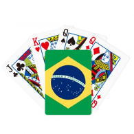 Brazil National Flag South America Country Poker Playing Cards Tabletop Game Gift