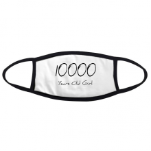 10000 years old Girl Age Face Anti-dust Mask Anti Cold Maske Gift