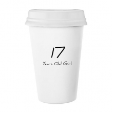17 Years Old Girl Age Young Classic Mug White Pottery Ceramic Cup Gift 350 ml