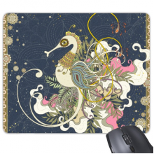 Flower Japan Hippocampus Ukiyo-e Mouse Pad Non-Slip Rubber Mousepad Game Office