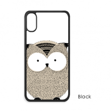 Simplicity Style Chubby Owl iPhone XS Max iPhonecase Cover Apple Phone Case