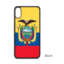 Ecuador National Flag South America Country iPhone XS Max iPhonecase Cover Apple Phone Case