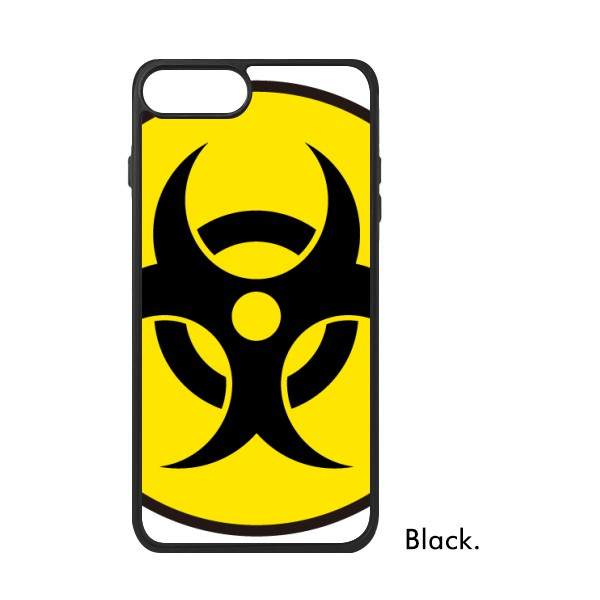 Yellow Dangerous Chemical Toxic Radiation Symbol For Iphone 88 Plus