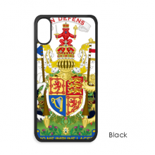 UK National Emblem Country Symbol iPhone XS Max iPhonecase Cover Apple Phone Case