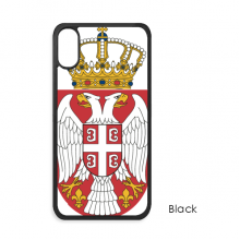 Serbia National Emblem Country iPhone XS Max iPhonecase Cover Apple Phone Case