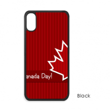 Canada Flavor Happy Canada Day iPhone XS Max iPhonecase Cover Apple Phone Case