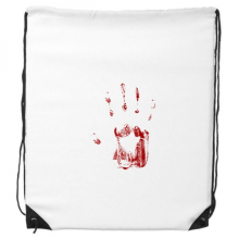 Halloween Horror Print Drawstring Backpack Shopping Gift Sports Bags