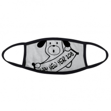 2018 Happy New Year Adorable Dog Face Anti-dust Mask Anti Cold Maske Gift
