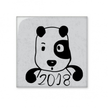 2018 New Year Adorable Cute Puppy Ceramic Bisque Tiles Bathroom Decor Kitchen Ceramic Tiles Wall Tiles