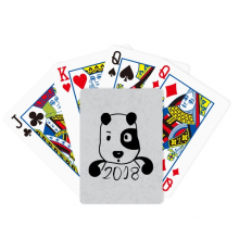 2018 New Year Adorable Cute Puppy Poker Playing Cards Tabletop Game Gift