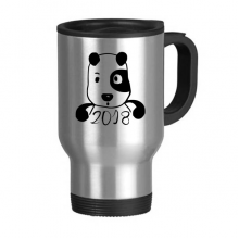 2018 New Year Adorable Cute Puppy Stainless Steel Travel Mug Travel Mugs Gifts With Handles 13oz