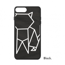 Abstract Origami Cat Geometric Shape For iPhone 7/7 Plus Cases Phonecase Apple Cover Case Gift
