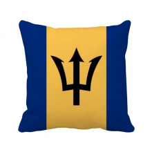 Barbados National Flag North America Country Throw Pillow Square Cover